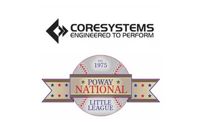 Core Systems Sponsors Poway National Little League