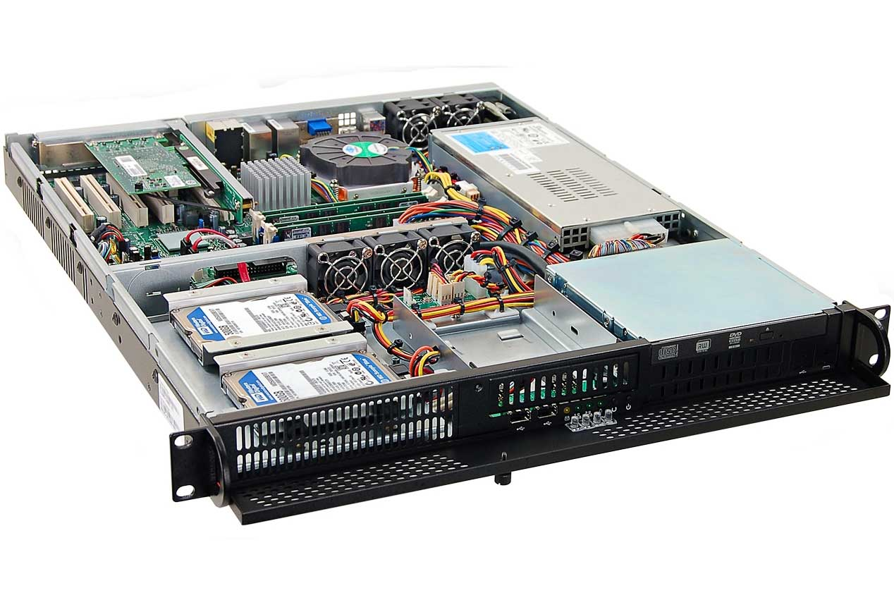 Rugged R1211 1u Server Core Systems