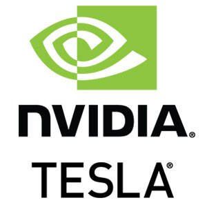 Includes NVIDIA® Tesla® GPU Card