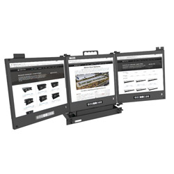 Rugged Pull-Out Drawer LCD Displays