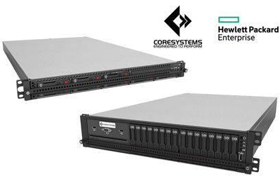Core Systems Continues to Add to Their Rugged Line of HPE Servers with the New 1U DL360RS and 2U DL380RS